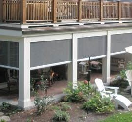 Dallas Retractable Solar Screens