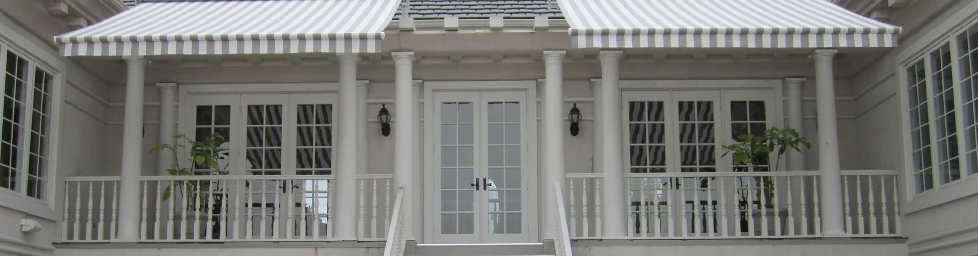 Awnings for San Antonio porch