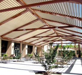 Dallas Louvered Patio Roof