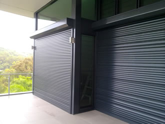Window security shutters - San Antonio, Texas