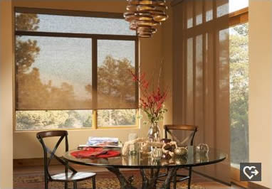 Houston Allustra roller shades