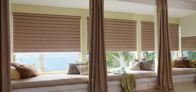 custom Roman shades San Antonio