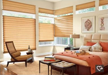 Hunter Douglas San Antonio Allustra Roman shades