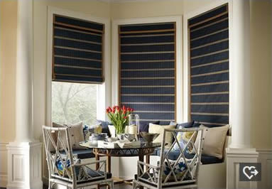 Provenance woven wood San Antonio Roman shades